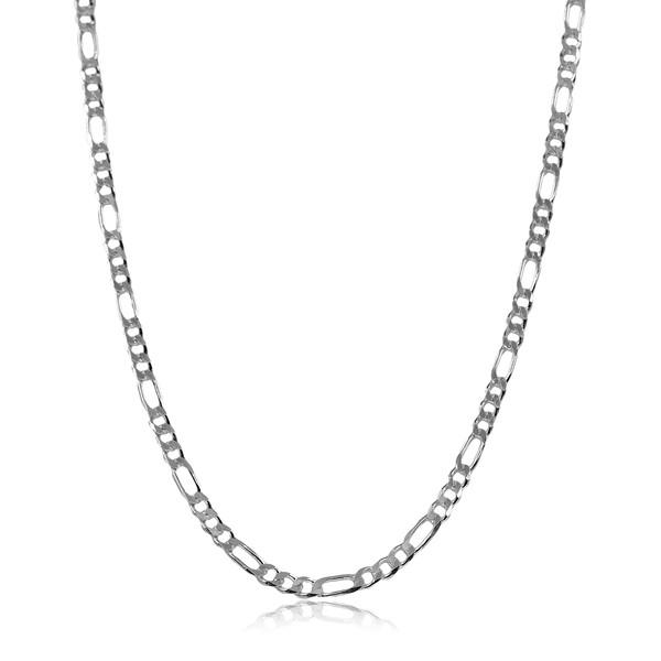 Figaro Zincir 925 Ayar Gümüş Erkek Kolye VEK-3024