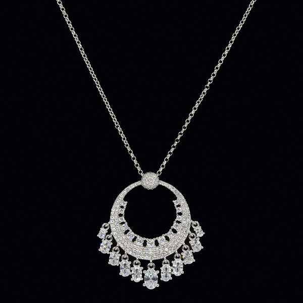 Kadın Gümüş Kolye VKK-4601