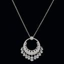 Kadın Gümüş Kolye VKK-4601 - Thumbnail