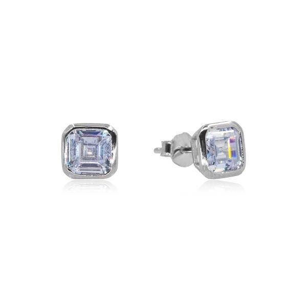 Küpe ve Kolye Gümüş Set VKS-8011